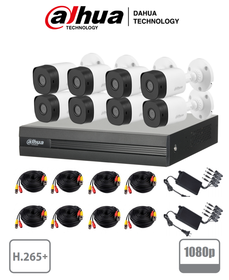 Paquete de 8 cámaras